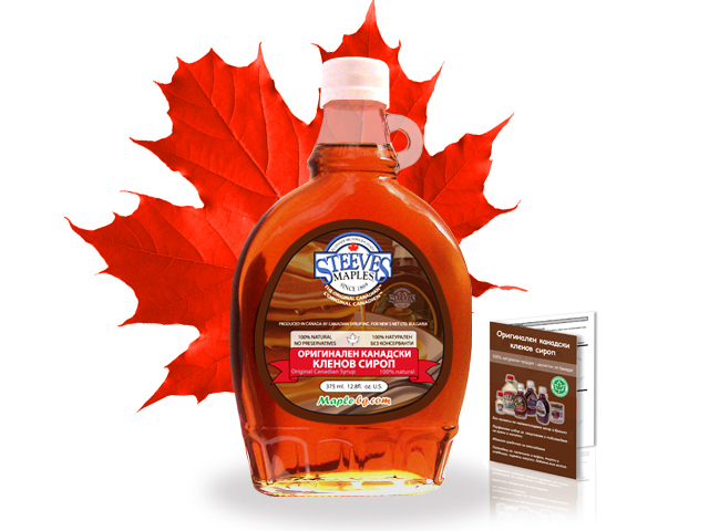 61e8b690547 Original Canadian maple syrup 375 ml