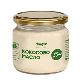 Organic coconut oil, without flavor 300 ml