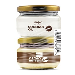Promo pack coconut oil 100 ml + cocoa butter 100 ml