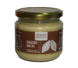 Organic raw cacao butter, 300 ml