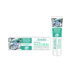 Organic Toothpaste with Sea Minerals and Spirulina, 65 ml.