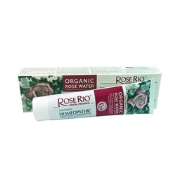 Organic Homeopathic toothpaste with rose water, 75 ml.
