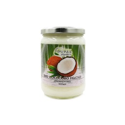 Organic coconut oil without aroma, 500 ml.