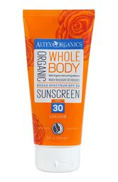Bio sunscreen for the whole body with a factor of 30 SPF