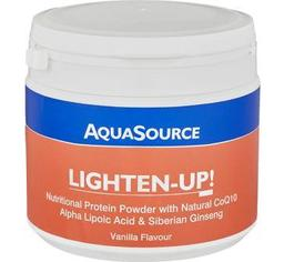 Lighten-Up! Powder food protein with natural CoQ10, alpha-lipoic acid and Siberian ginseng